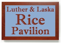 For your next company picnic, wedding reception, family or church gathering, consider the Luther and Laska Rice Pavilion, located on beautiful Lake Wedowee.